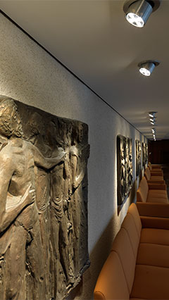Works of art are showing off with Philips entertainment lighting