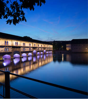 Philips illuminates Grand Île at Strasbourg creating amazing lighting effects
