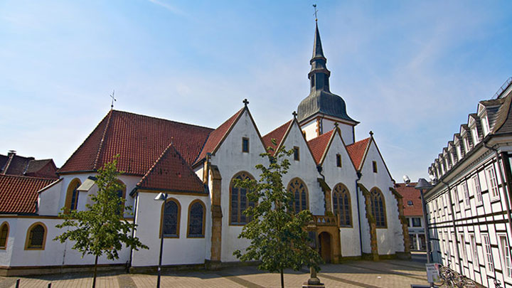 Historic building at Reitberg under the daylight