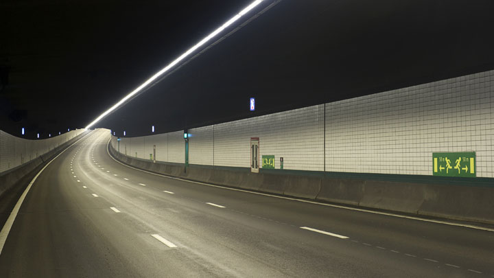 Zeeburger tunnel Amsterdam